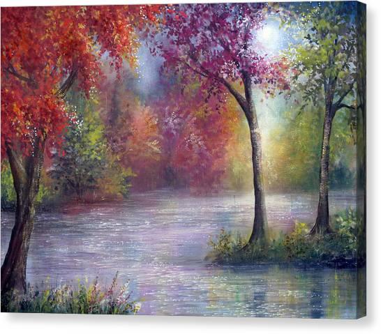 Ambience Canvas Print by Ann Marie Bone