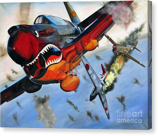 Ambushed Canvas Print