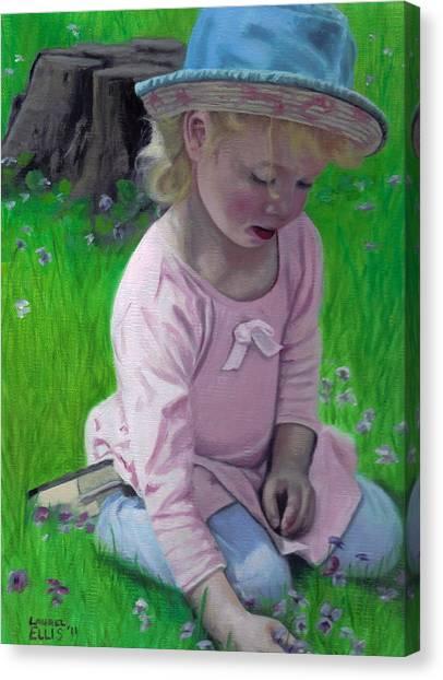 Amelia Canvas Print by Laurel Ellis