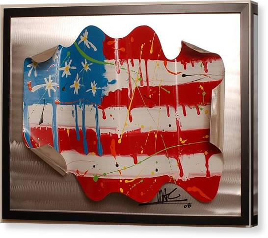 America Edition 2 Canvas Print by Mac Worthington
