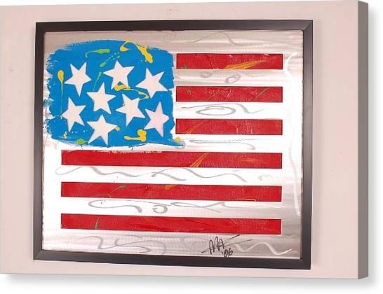 America Edition 3 Canvas Print by Mac Worthington