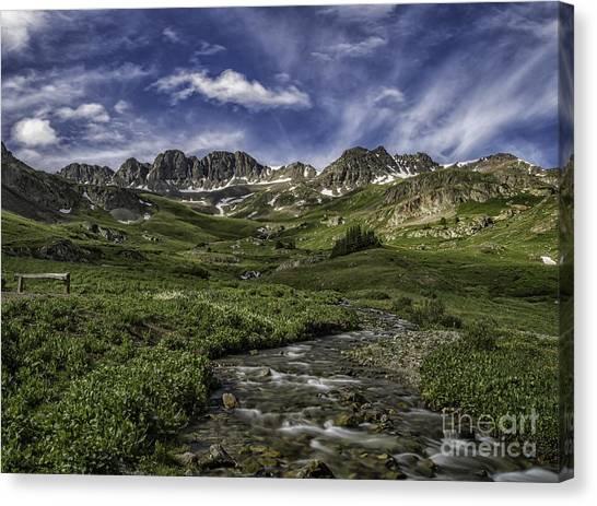 American Basin Trail Head Canvas Print