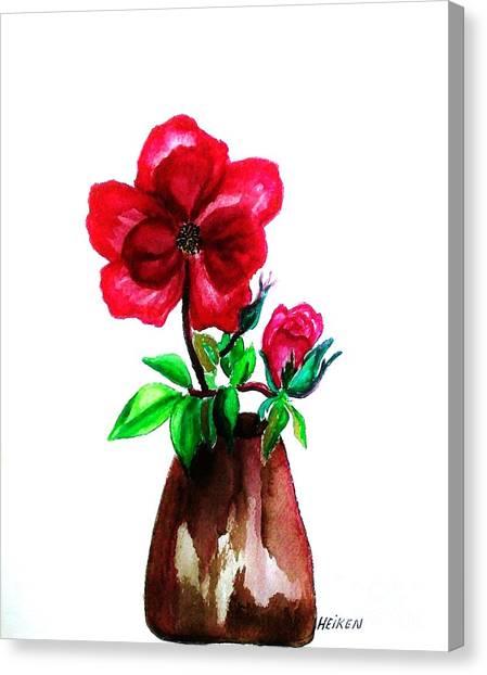 American Beauty Rose Canvas Print