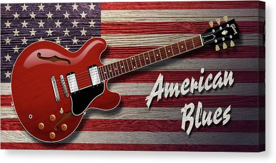 American Blues 335 Canvas Print