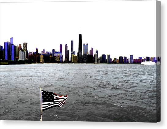 American Chi 3 Canvas Print