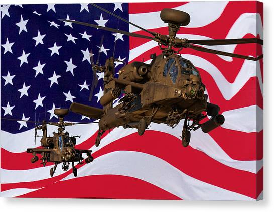 American Choppers Canvas Print