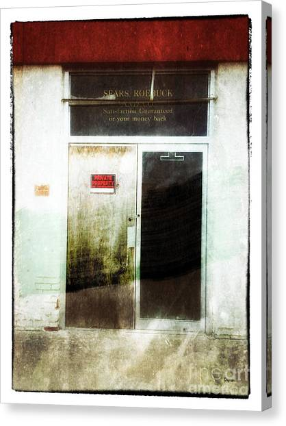American Decay - Sears And Roebuck  Canvas Print by Steven Digman