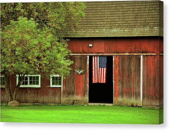 American Farm Canvas Print by JAMART Photography