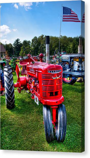 American Farmall Canvas Print