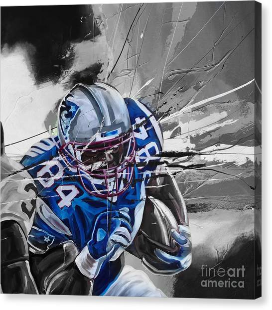 Johnny Manziel Canvas Print - American Football 6710k by Gull G