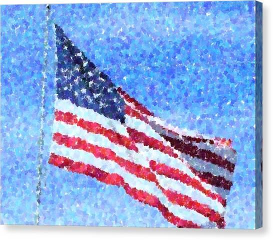 American Honor Canvas Print