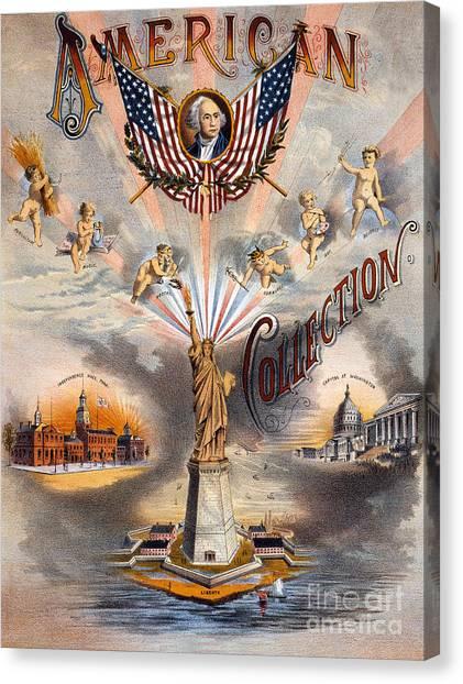 Whitehouse Canvas Print - American by Jon Neidert