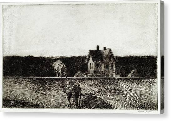 American Landscape Canvas Print