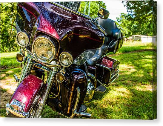 American Legend - Motorcycle Canvas Print