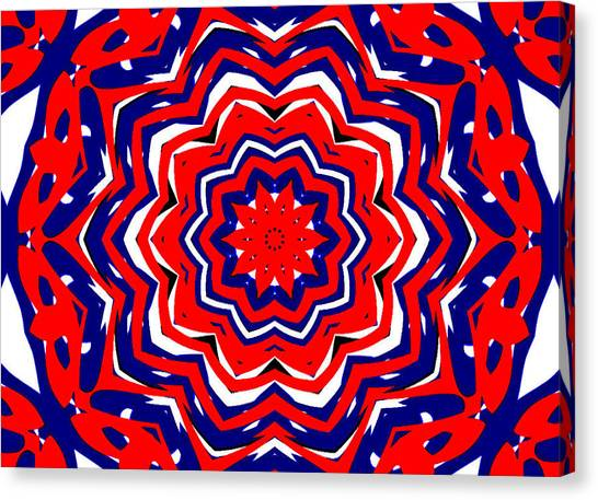 Kaleidoscope 5555 Canvas Print
