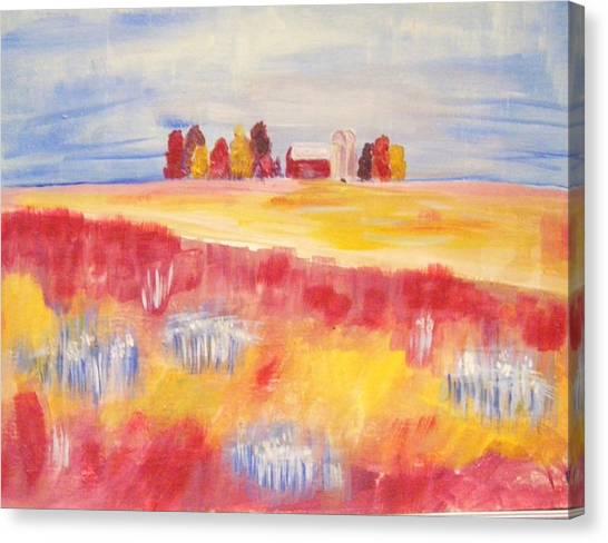 American Riceland Canvas Print by Belinda Lawson