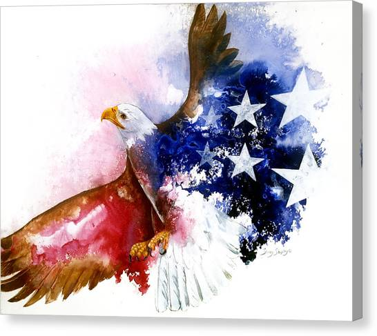 American Spirit Canvas Print