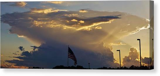 American Supercell Canvas Print