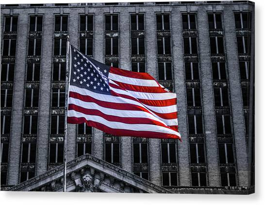 American The Beautiful  Canvas Print