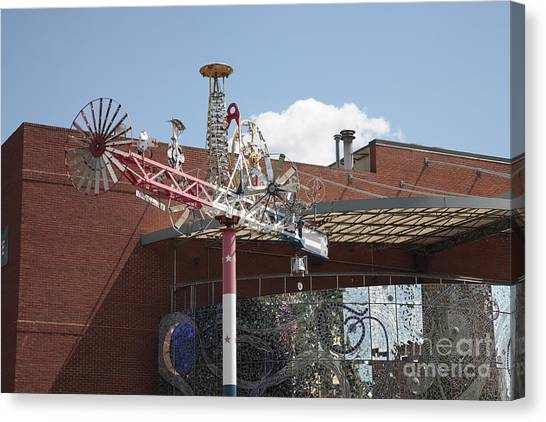 American Visionary Art Museum In Baltimore Canvas Print