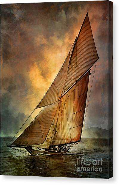 America's Cup 1 Canvas Print