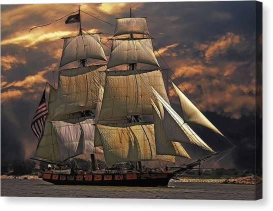 America's Ship Canvas Print