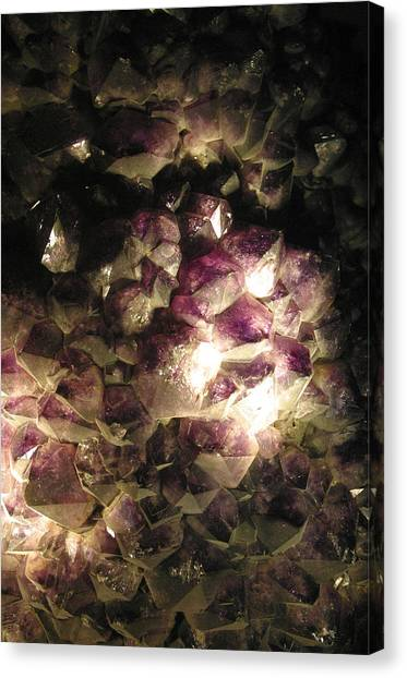 Amethyst Canvas Print by Jez C Self