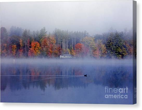 Amherst Lake Vt Canvas Print