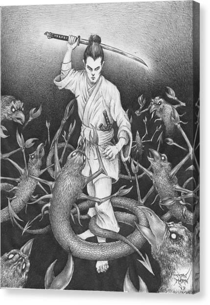 Amikiri Canvas Print