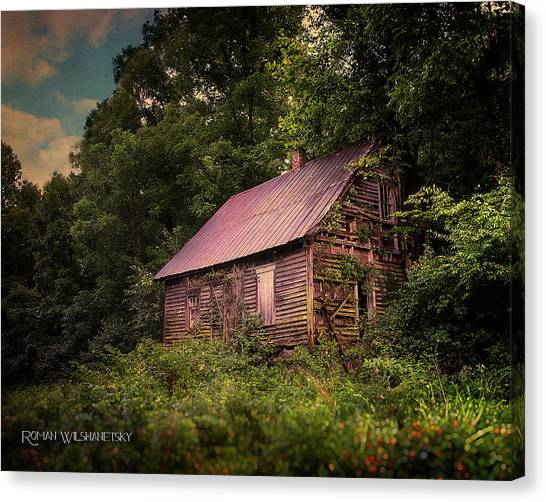 Amish House Canvas Print