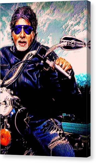Amitabh Bachchan - Living Legend Canvas Print