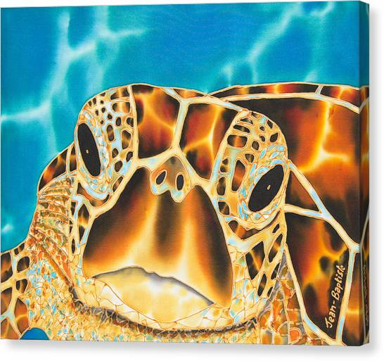 Amitie Sea Turtle Canvas Print