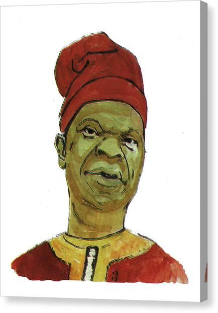 Amos Tutuola Canvas Print