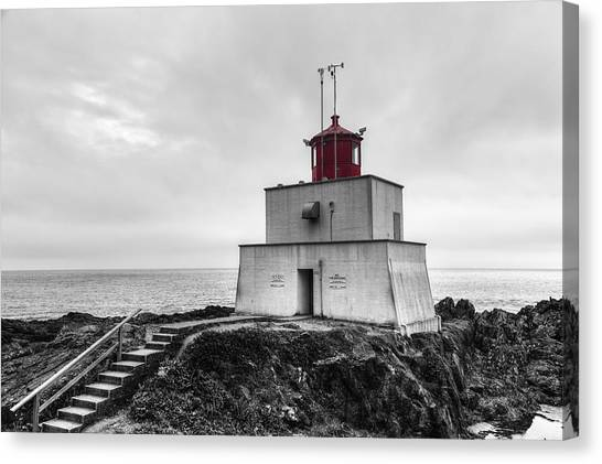 Vancouver Island Canvas Print - Amphitrite Point Lighthouse by Mark Kiver