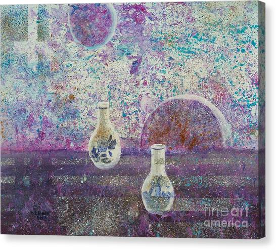 Amphora-through The Looking Glass Canvas Print