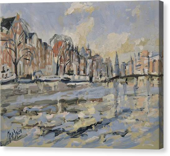 Canvas Print - Amstel Amsterdam by Nop Briex