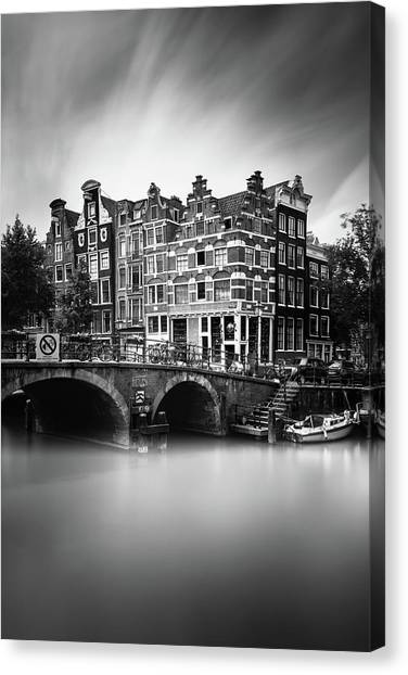 Holland Canvas Print - Amsterdam, Brouwersgracht by Ivo Kerssemakers