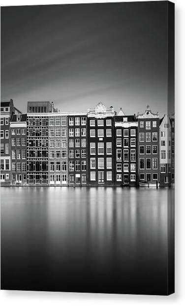 Holland Canvas Print - Amsterdam, Damrak I by Ivo Kerssemakers