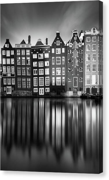 Holland Canvas Print - Amsterdam, Damrak II by Ivo Kerssemakers