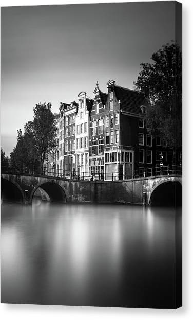 Holland Canvas Print - Amsterdam, Keizersgracht by Ivo Kerssemakers