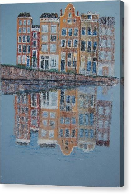 Amsterdam Canvas Print by Marina Garrison