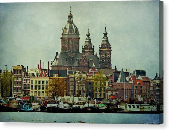 Amsterdam Skyline Canvas Print