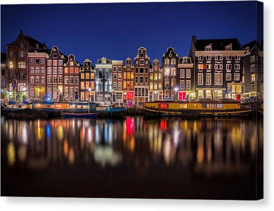 Martin Canvas Print - Amsterdamn by Martin Podt