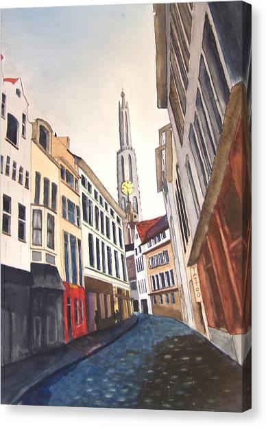 Amstradam Canvas Print by Robert Thomaston