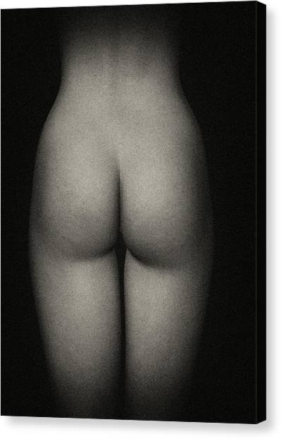 Amy Backside Canvas Print