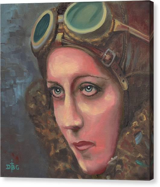 Amy Johnson Canvas Print