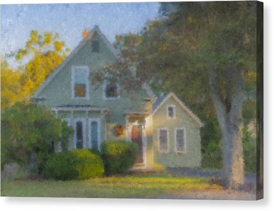 Amy's House Canvas Print