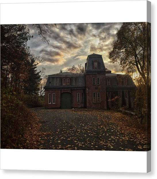 Racism Canvas Print - Abandoned Carriage House   by Blake Butler
