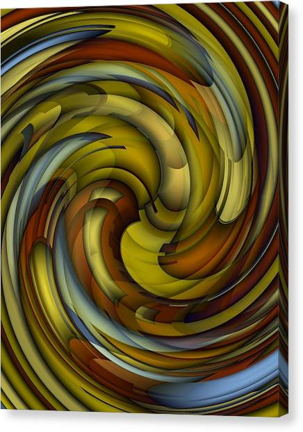 An Amazing Capture Canvas Print by Terry Mulligan