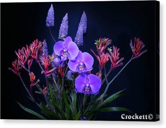 An Aussie Flower Arrangement Canvas Print
